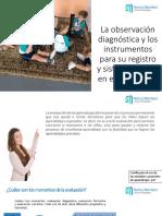 La Observación Diagnóstica y Registro