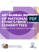 10th Global Summit of National Ethics-Bioethics Committees