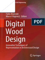 (Lecture Notes in Civil Engineering  24) Fabio Bianconi, Marco Filippucci - Digital Wood Design_ Innovative Techniques of Representation in Architectural Design-Springer International Publishing (2019