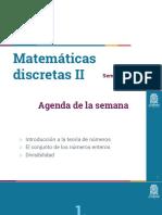 Matemáticas discretas II