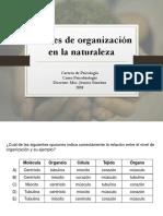 Clase 1 Conceptos de Biología y Niveles de Organización