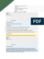 Revision Quiz #2 Comunicacion Org