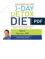 [2014] The Blood Sugar Solution 10-Day Detox Diet by Mark Hyman | Activate Your Body's Natural Ability to Burn Fat and Lose Weight Fast | Hachette Audio