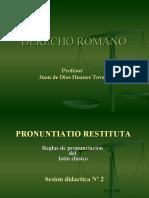 DERECHO ROMANO PPT