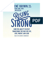 [2015] Rising Strong by Brené Brown |  How the Ability to Reset Transforms the Way We Live, Love, Parent, and Lead | Random House Audio