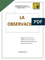 informe resumen la observación Ezequiel ander