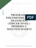 programa de psicomotricidad