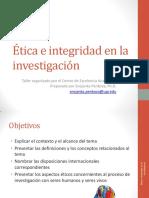 ETICA E INVESTIGACIÓN