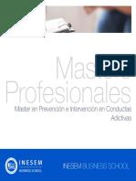 Master Prevencion Intervencion Conductas Adictivas