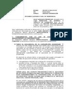 Abs. Contradicion Sin Causales - Hipoteca