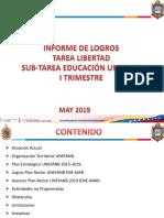 Informe de Logros UNEFANB 2019