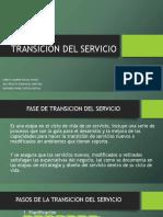 Transicion Del Servicio Expo