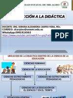 introducción a la didáctica