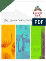 College Park Parking Report