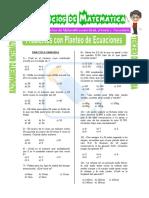 Problemas Con Planteo de Ecuaciones Para Secundaria (1)