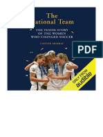 [2019] The National Team by Caitlin Murray |  The Inside Story of the Women Who Dreamed Big, Defied the Odds, and Changed Soccer | Audible Studios