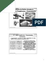 Estruturas de Betão Armado II 11 Lajes Fungiformes - Punçoamento