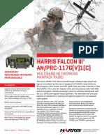 An Prc 117g Multiband Networking Manpack Radio Datasheet