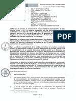 RESOLUCION DIRECTORAL PAS-OEFA