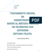 Cinesiterapia Artrosis de Rodilla