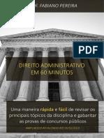 Direito Administrativo em 60 minutos