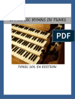 Catholic hymnal tonic sol-fa