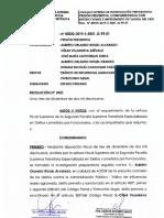 Pedido de impedimento de salida del país contra César Villanueva se verá el jueves