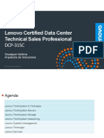 training material Lenovo Certified Data Center Technical Sales Professional DCP-315C
