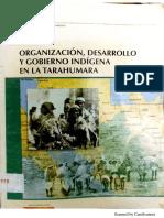 Organización, desarrollo y gobierno indígena en la Tarahumara