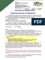 Aula 10-Dimensionamento de Disjuntores