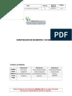 Proc-05 Investigacion de Incidentes y Accidentes