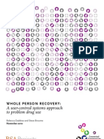 RSA Whole Person Recovery report