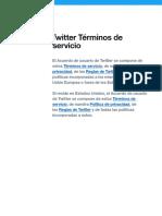 politicas de twiter