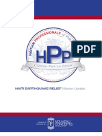 Haitian Professionals of Philadelphia | Haiti Earthquake Relief Mission