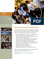 International Training Program