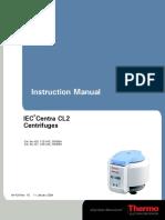 Manual de Centrifuga IEC CL2