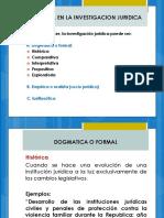 Tipologia en La Investigacion Juridica
