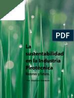 Sustentabilildad en Pirotecnia