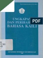 Ungkapan Dan Peribahasa Bahasa Kaili (1998)