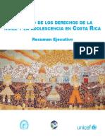 V Estado de los derechos de la niñez y la adolescencia en Costa Rica