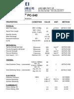 Wonderloy PC 540