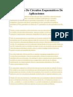 Elaboración De Circuitos Esquemáticos De Aplicaciones