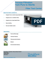 Filter Integrity Test Machine