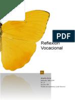 reflexion vocacional
