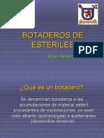 BOTADEROS DE ESTERILES