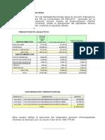 Cuadros Liquidacion Financiera Plaza 2 de Mayo