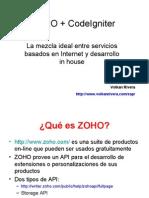 ZOHO_+_CodeIgniter