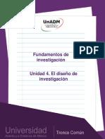 El diseño de investigacion