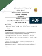Balance Energetico Principio de Conservacion de La Energia en Intercambiadores de Calor