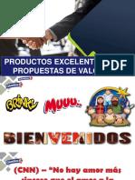 Productos Excelentes y Promesas de Valor Meincke 2019